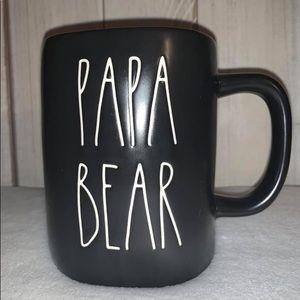 Rae Dunn Papa bear mug